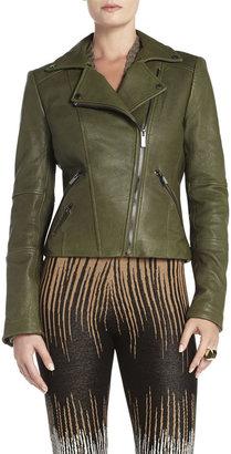 BCBGMAXAZRIA Ella Leather Moto Jacket
