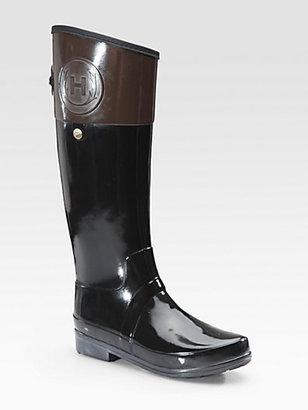 Hunter Regent Carlyle Bicolor Rain Boots