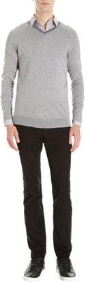 Theory V-Neck Sweater