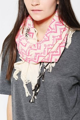 Leigh & Luca Printed Square Scarf