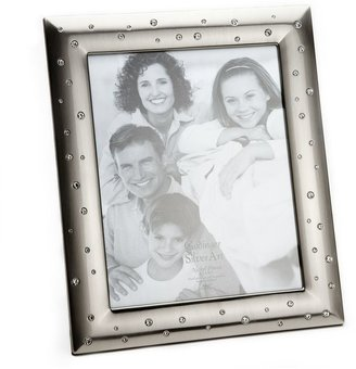 "Godinger 8"" x 10"" pewter finish frame"