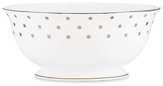 Kate Spade Larabee Road Platinum Serving Bowl