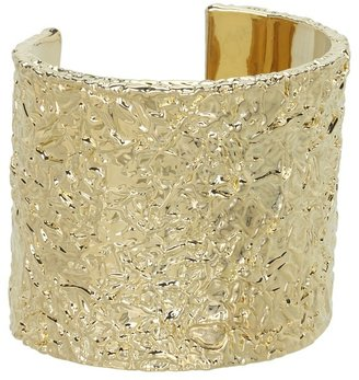 Marc by Marc Jacobs Wide Foil Cuff (Oro) - Jewelry