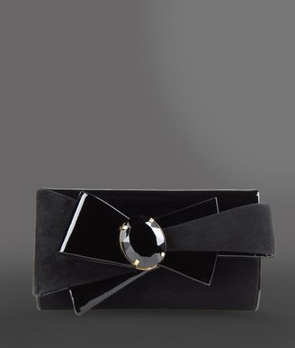 Giorgio Armani Clutch with patchwork of materials
