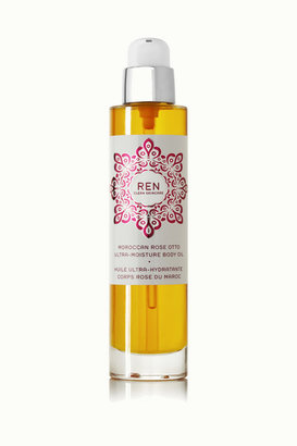 Ren Skincare Moroccan Rose Otto Ultra-moisture Body Oil, 100ml - Colorless