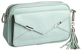 Rebecca Minkoff mint leather 'The Billy' shoulder bag