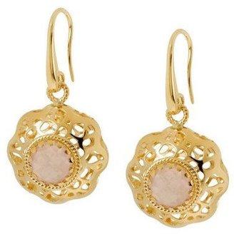 Arte D'oro Arte D'Oro 1.20 ct tw Gemstone Dangle Earrings,18K