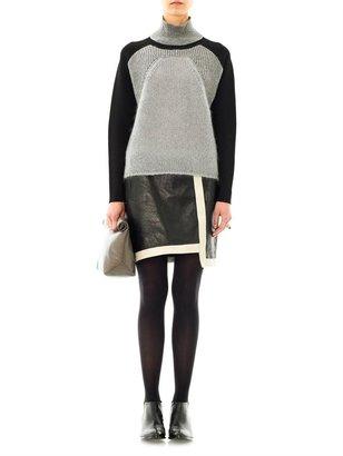 Helmut Lang High-neck textured sweater