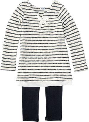 Splendid Nautical Stripe Tunic & Legging Set