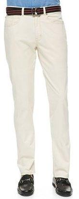 Peter Millar New 5-Pocket Pants, Stone $145 thestylecure.com