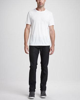 Diesel Thavar Coated Jeans, Black