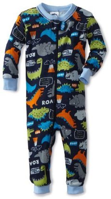 Gerber Baby-Boys Infant 1 Piece Unionsuit Dino Talk Pajama