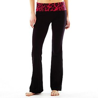 JCPenney Print Yoga Pants