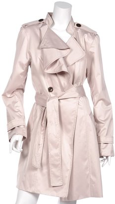 Vince Camuto Ruffle Trench