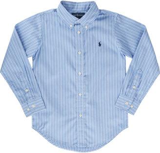 Ralph Lauren Shadow-Stripe Dress Shirt