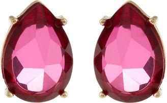 Fragments for Neiman Marcus Teardrop Post Earrings, Fuchsia