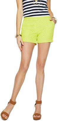 C. Wonder Eyelet Cotton Short