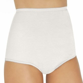 Vanity Fair Perfectly Yours Tailored Cotton Brief 15318 $10 thestylecure.com
