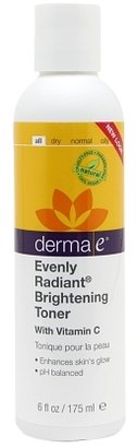 derma e Evenly Radiant Brightening Toner with Vitamin C