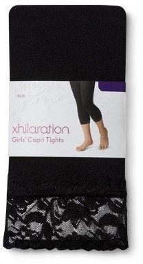 Xhilaration Fashion Lace Capri Tights