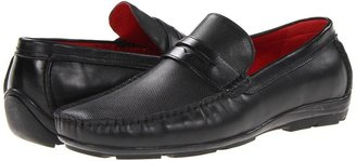 Steve Madden Lamburt (Black Leather) - Footwear