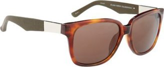 The Row Rectangular D-Frame Sunglasses