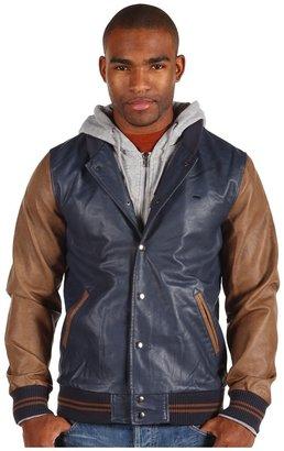 Obey Varsity Jacket 2 (Navy) - Apparel