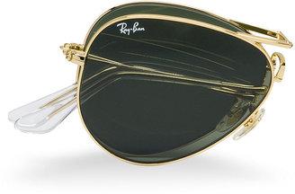 Ray-Ban Sunglasses, RB3479 Folding Aviator (58)