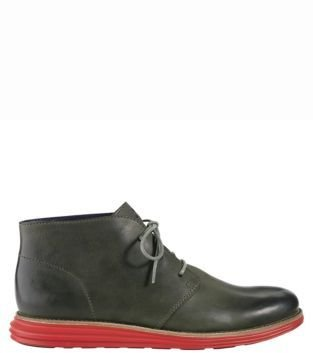 Cole Haan Lunargrand Leather Chukka Boots