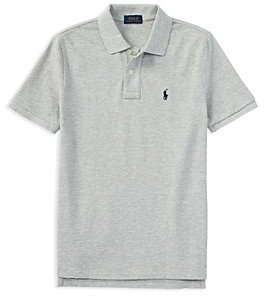 Ralph Lauren Polo Boys' Solid Mesh Polo - Big Kid