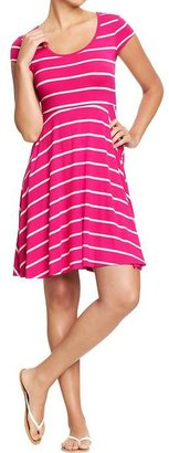 Old Navy Women's Fit & Flare Tee Dresses