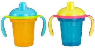Fisher-Price Stack n' Store Hard Spout Sippy Cup - Blue/Orange - 6 oz - 2 ct