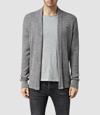 AllSaints Mode Merino Open Cardigan