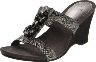 AK Anne Klein Women's Coho Wedge Sandal