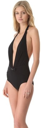 Karla Colletto Low Back Swimsuit