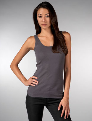 Twisted Heart Angelic Tank in Slate