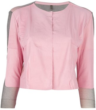 Aviu open front fitted jacket