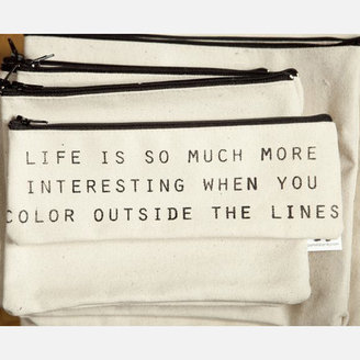 pamela barsky Color Outside Lines Small Pouch
