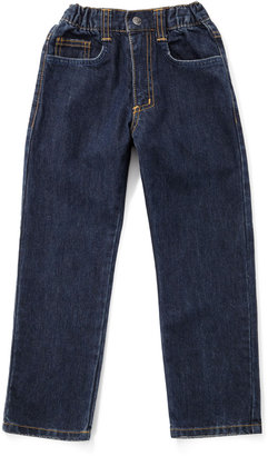 Charlie Rocket Vintage Blue Five-Pocket Jeans