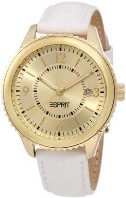 ESPRIT Women's ES105142003 Marin Eclipse Gold Analog Watch $105 thestylecure.com