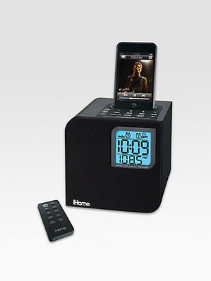 iHome Spacesaver Dual Alarm Clock Radio for iPod?