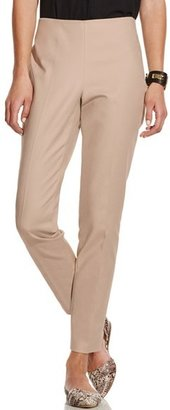 Women's Vince Camuto Side Zip Double Weave Stretch Cotton Pants $79 thestylecure.com