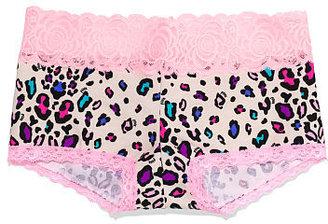 Victoria's Secret PINK Lace Trim Boyshort Panty