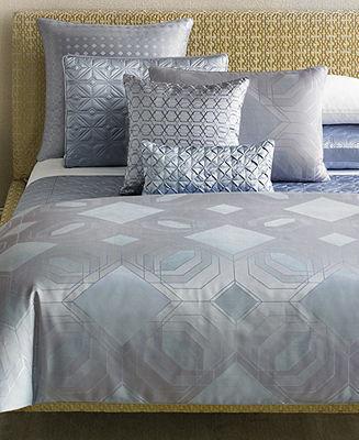 Hotel Collection CLOSEOUT! Pergola Queen Duvet Cover
