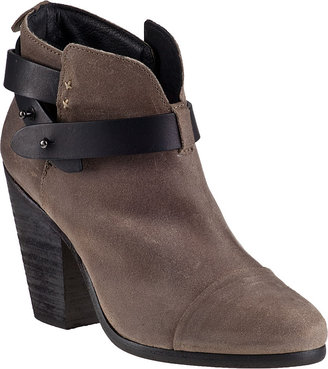 Rag and Bone Harrow Ankle Boot Black Leather