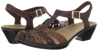 Clarks Wendy Lily (Brown Multi) - Footwear