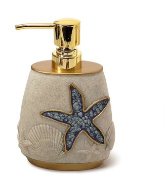 Shell Cove Lotion Dispenser in Blue