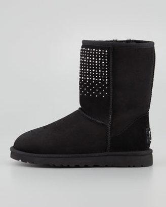 UGG Bling Studded Short Boot, Black