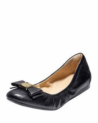 Cole Haan Tali Bow Ballet Flat, Black $248 thestylecure.com