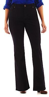 JCPenney a.n.a® 5-Pocket Bootcut Jeans - Plus
